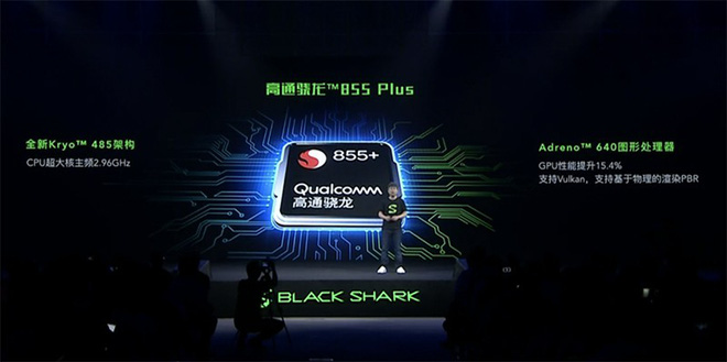 Shark 2 Prosở hữu con chip Snapdragon 855 Plus